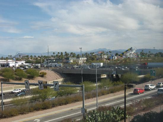 Holiday Inn Phoenix - Mesa/Chandler: View from Room 454.