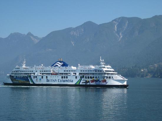 Ferry From Bowen Island To Horseshoe Bay