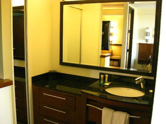 Bathroom Partitions Tampa partition between sitting area & bed - picture of hyatt place