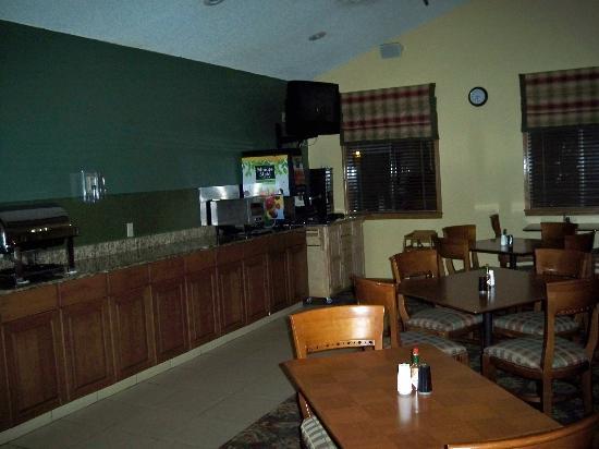 Sonesta ES Suites Burlington: Breakfast Area