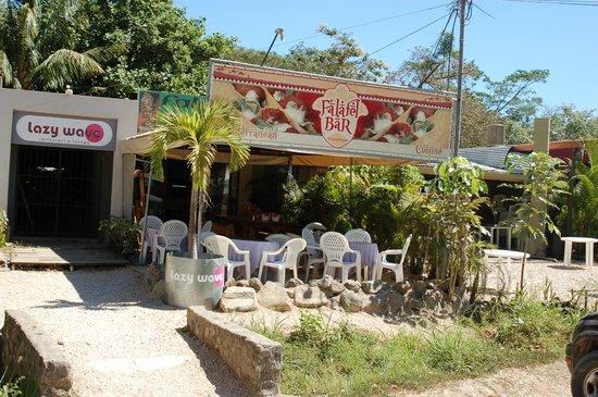 Falafel Bar Medetirenean cusine: Falafel bar - February 2012