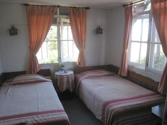 Papau Bhuka: Our twin bedded room