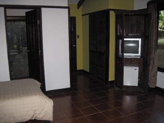 Hotel La Pacifica: the door