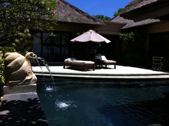 AYANA Resort and Spa Bali: Terrasse Suite 3004