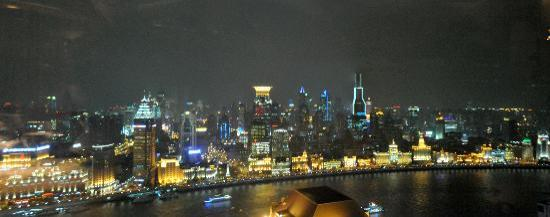 Jade on 36 - Pudong Shangri-La Hotel: view out the window