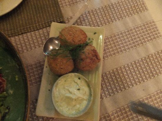 Mi Casa Dining Concepts, Chiang Mai: Crab Croquettes just melt in the mount so light and full of flavour