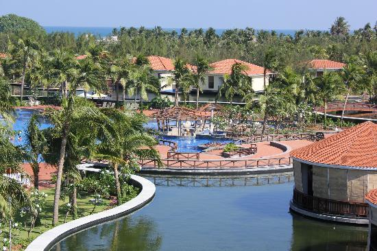 View From Sit Out Picture Of Bonjour Bonheur Ocean Spray Pondicherry Tripadvisor