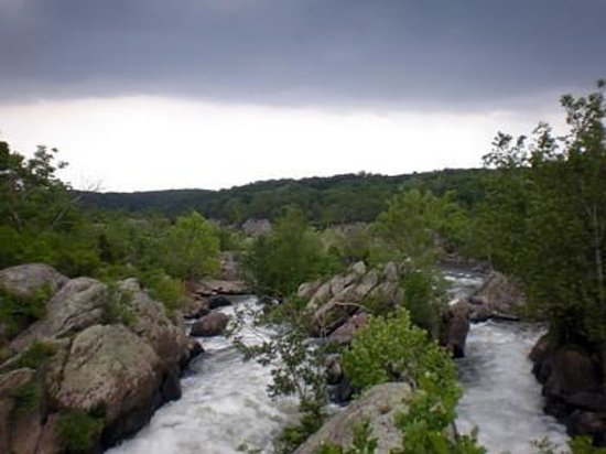 Billy Goat Trail: Great Falls overlook