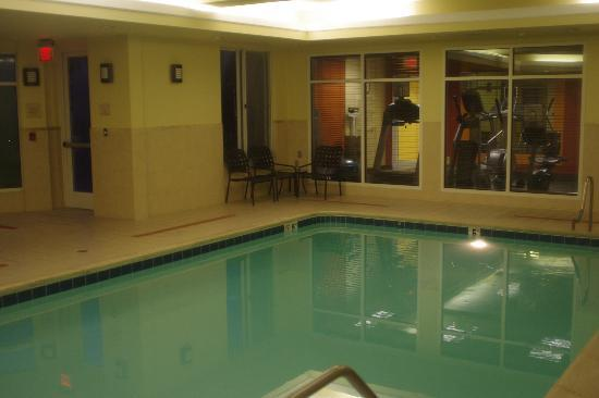 Hilton Garden Inn Sonoma County Airport: Swimming pool & jacuzzi