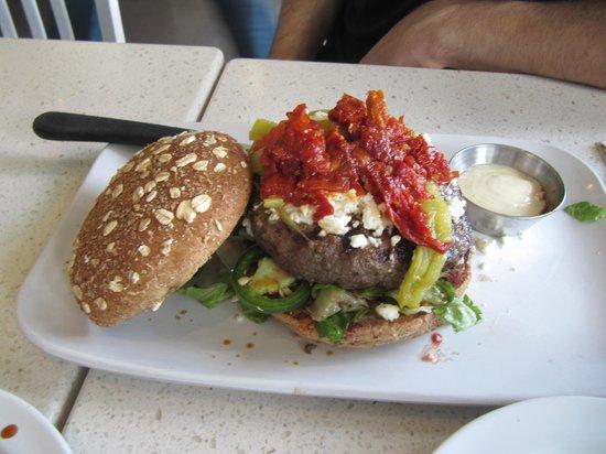 Photo of American Restaurant The Counter at 12117 Ventura Blvd, Studio City, CA 91604, United States
