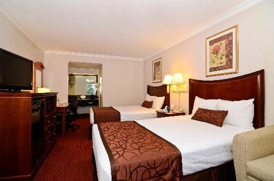 Chula Vista Inn: Double Beds