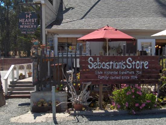 Sebastian General Store : Sebastian's Market & Hearst Winery