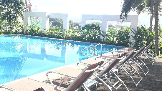 View Of Hotel Building From Pool Picture Of One World Hotel Petaling Jaya Tripadvisor