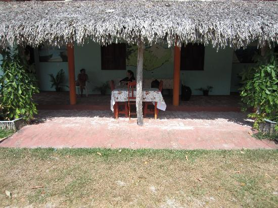 Santo Amaro do Maranhao, MA: Front Porch