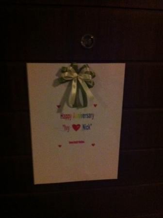 DS67 Suites: Wedding anniversary