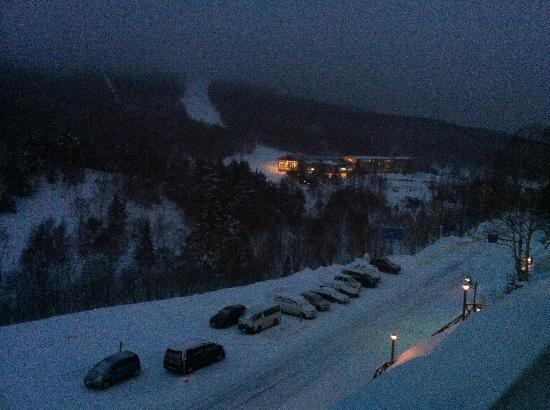 Hotel Sunroute Shiga-kogen: View from our room