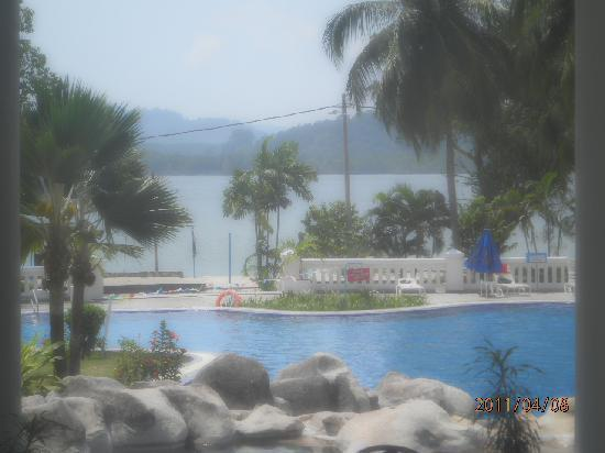 The Orient Star Resort Lumut: view from the room