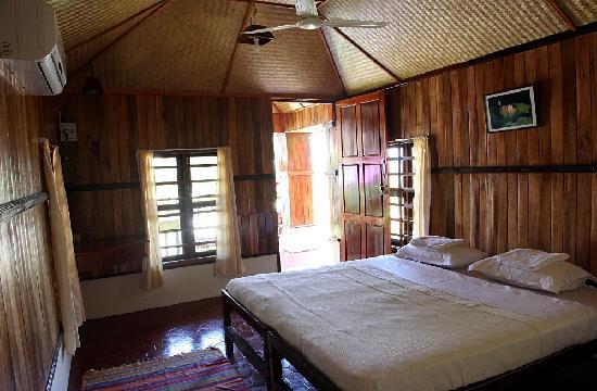 Bio Veda Hill Resort Cottage Interior