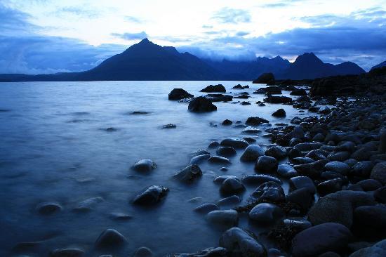 Mid-summer night Loch Scavaig