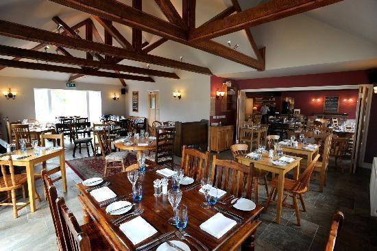 Tendring, UK: Inside the restaurant