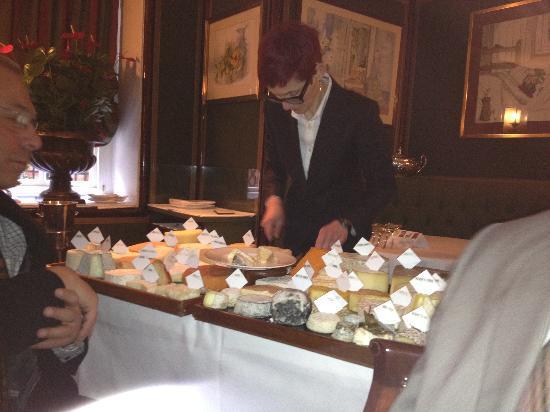 Le Gavroche: The Cheese Trolly
