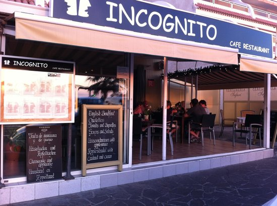 Incognito: Inkognito from the outside
