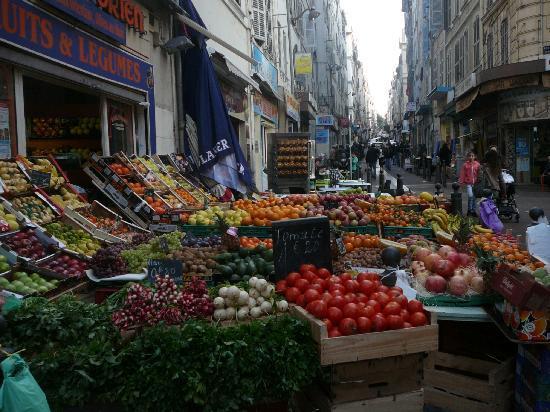 Marseille, Frankrig: Il mercato