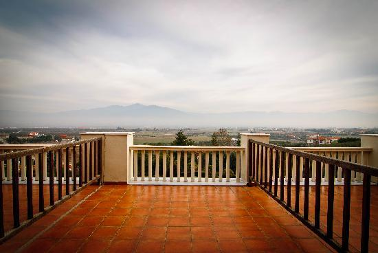 Heaven Hotel: Huge terrace
