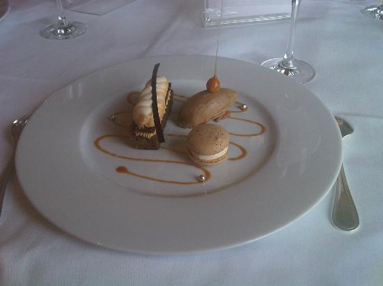 Hotel Royal-Riviera: Dessert: Variationen vom Espresso