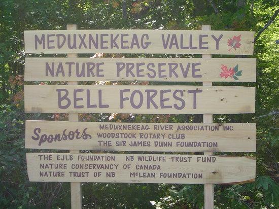 Γούντστοκ, Καναδάς: Meduxnekeag Nature Preserve
