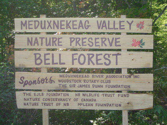 Woodstock, Kanada: Meduxnekeag Nature Preserve