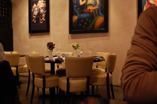 Memories of India: interno del ristorante