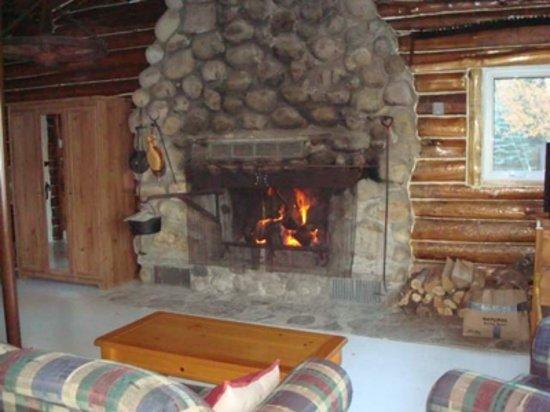 La Piol: Fireplace