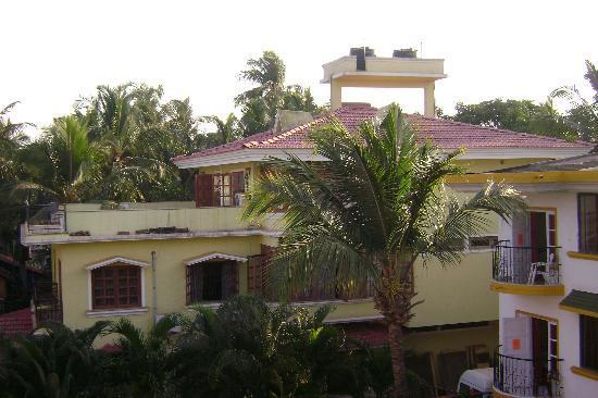 Santa Monica Resorte: view from balcony