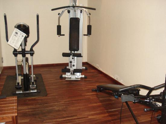 "TOP CityLine Hotel Eggers Hamburg: ""Gym"""