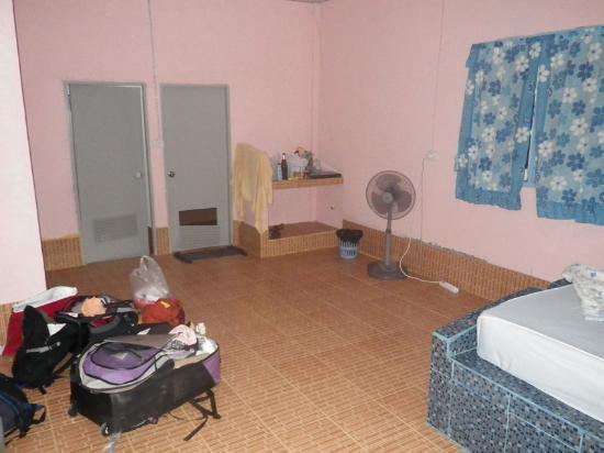Daya Resort : la stanza