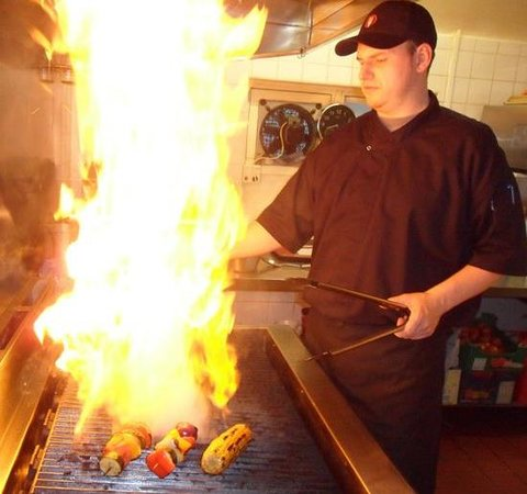 Galleon Grill : Open Grill for the best flavours