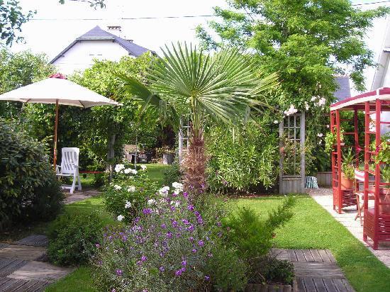 Villa Saint Corentin : le jardin