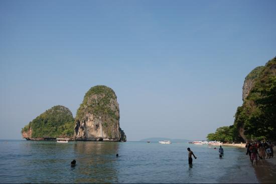 PhraNang Cave Beach: A Fine Day!
