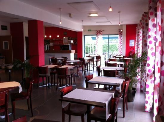 Kyriad Lyon Sud - Saint Genis Laval: the restaurant