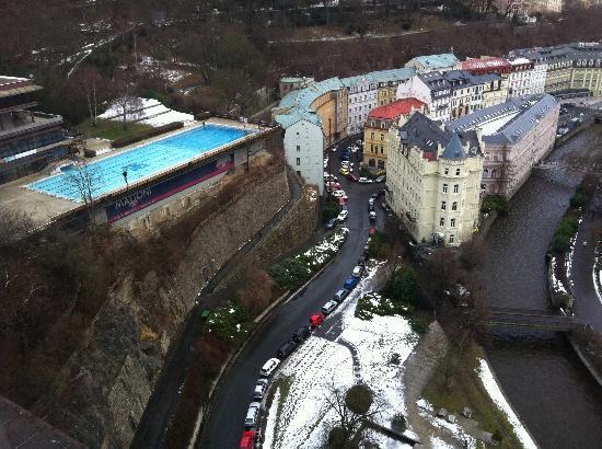 Hotel Thermal: Вид с 15-го этажа