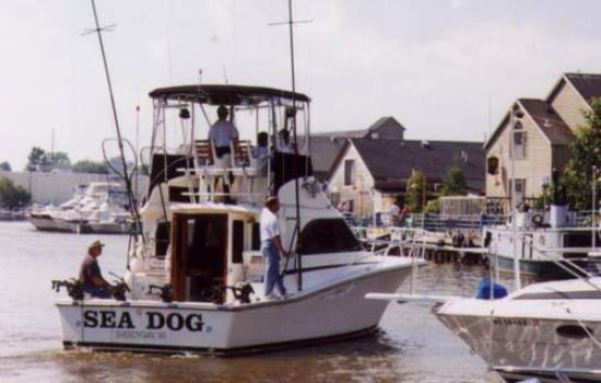 Sea Dog Sportfishing Charters of Sheboygan: Sheboygan Riverfront. Sea Dog Sportfishing Charters