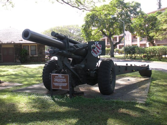 Wahiawa, HI: 155mm howitzer