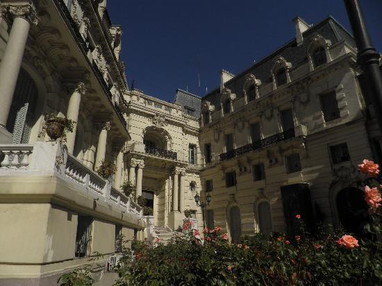 Palacio Paz: The garden
