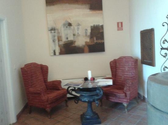 Alcázar de San Juan, España: Recibidor del Hotel Convento Santa Clara