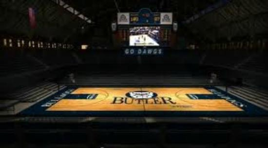 Hinkle Fieldhouse: Inside