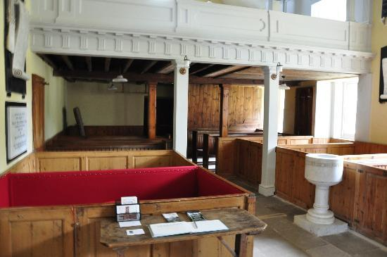 Ross and Cromarty, UK: Inside the East Church in Cromarty