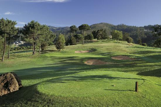 Palheiro Golf: View from the 2nd tee