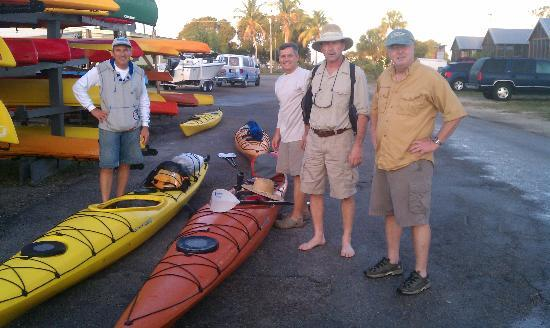 Everglades Kayak Company: Departure point Naples Kayak