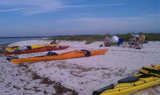 Everglades Kayak Company: Pavilion Key 1st. night